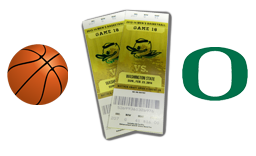 Come in to the store for your chance to win 2 FREE Oregon Basketball Tickets!