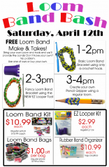 Loom Band Bash