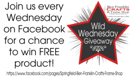 Like us on Facebook for FREE Giveaways!